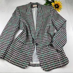 Pendleton 100% Wool Checkered Plaid Jacket Blazer